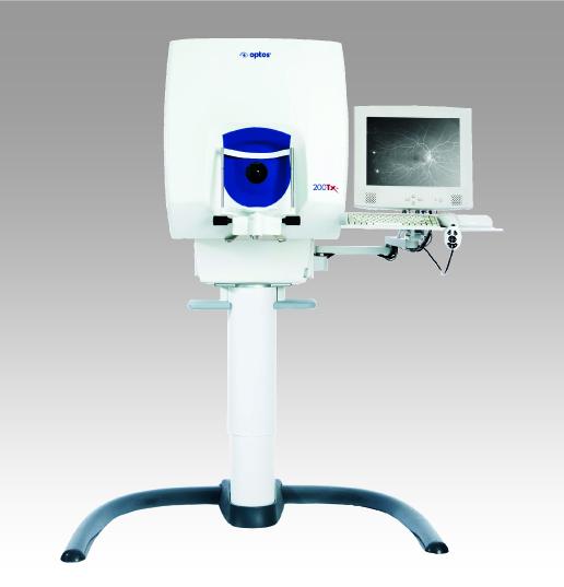 超広角走査レーザー検眼鏡 (Optos 200Tx・カリフォルニア)