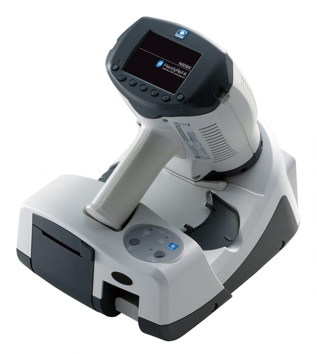 手持ち型 屈折度測定・角膜曲率半径測定装置 (HandyRef-K)