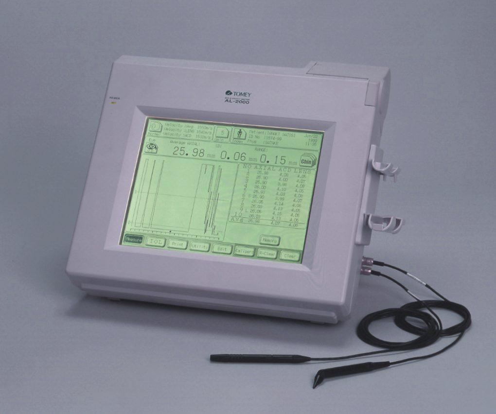 超音波式眼軸長測定装置