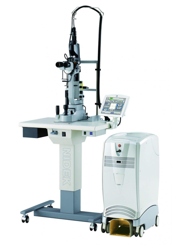 マルチカラースキャンレーザー光凝固装置 (MC-500 Vixi)